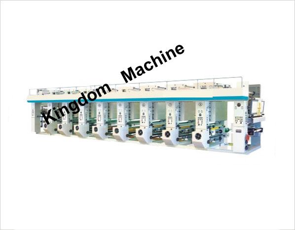 KDASY Computer rotogravura máquina de impressão