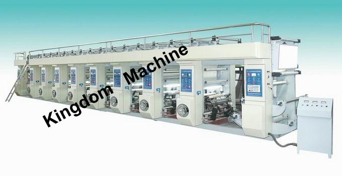 KDASY-M Computer rotogravura máquina de impressão
