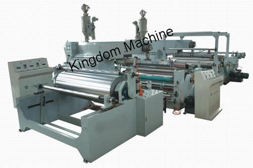 two layers co-extrusion coating machine